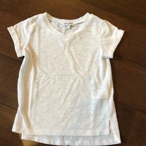 Splendid 2T white tee shirt.